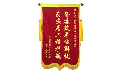 中科时代集团锦旗荣誉