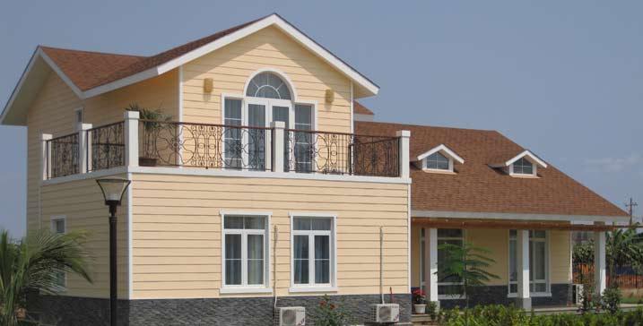 安哥拉中信营地别墅工程