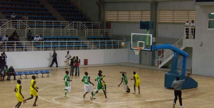 安哥拉卢班戈体育馆LED屏幕