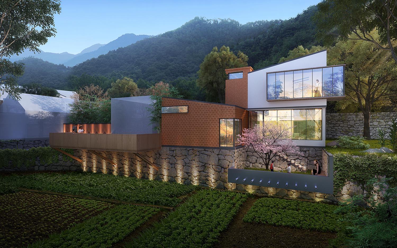 自建别墅设计案例---平谷三小院(3)