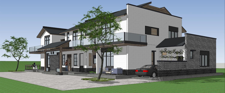 自建别墅设计案例---梁家私人住宅