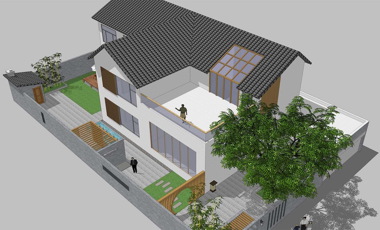 自建别墅设计服务---容城别墅