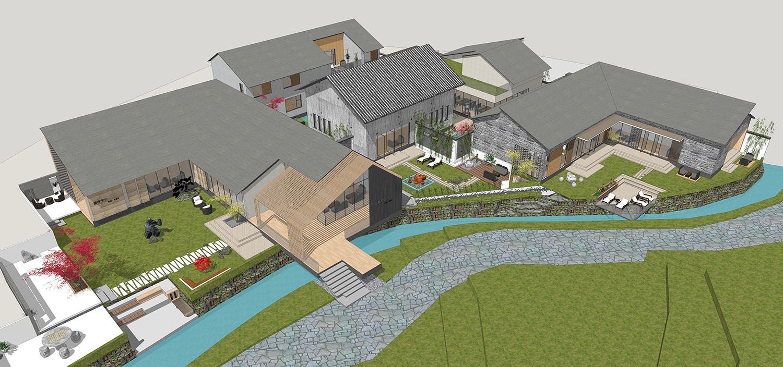 自建别墅设计服务---竹溪谷接待中心