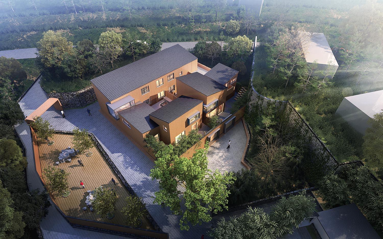 自建别墅设计服务---平谷三小院(1)