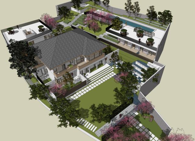自建别墅设计服务---赤壁邓家大宅